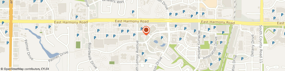 Route/map/directions to J P Moran Design Incorporated, 80526 Fort Collins, 1112 OAKRIDGE DR UNIT 104
