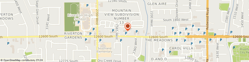 Route/map/directions to Cosmo Prof Riverton, 84065 Riverton, 2464 W 12600 South #140