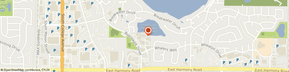 Route/map/directions to Aata International Inc, 80525 Fort Collins, 748 Whalers Way, Suite 110