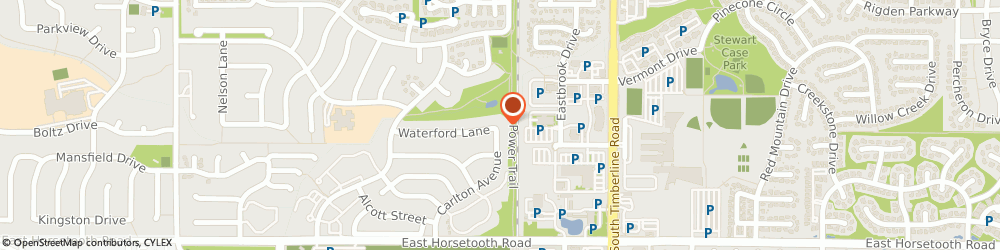 Route/map/directions to Kay Jewelers, 80525 Fort Collins, 2842 Council Tree Ave, Suite 101