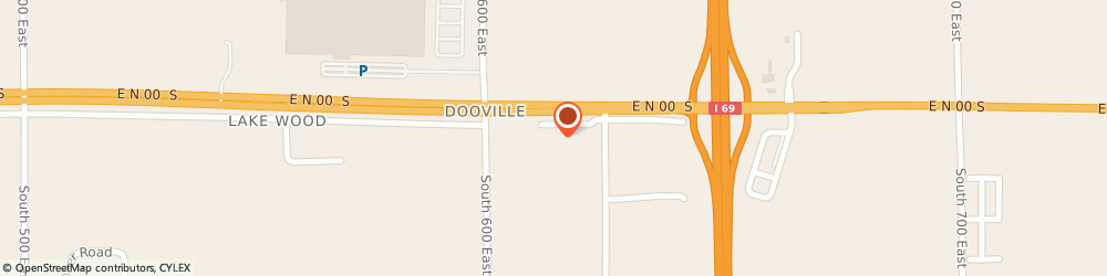 Route/map/directions to Americas Best Value Inn, 46953 Marion, 6138 East Corridor Drive