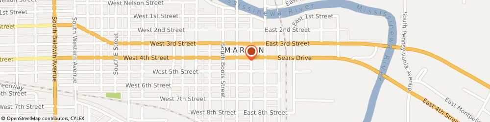 Route/map/directions to Total Computer Solutions Incorporated, 46952 Marion, 114 EAST 4TH STREET