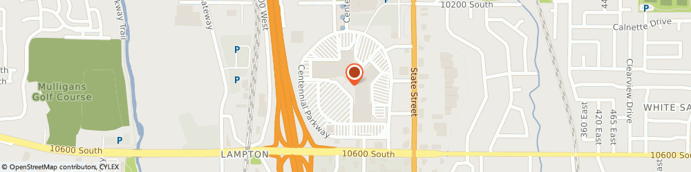 Route/map/directions to Radio Shack, 84070 Sandy, 10450 SOUTH STATE ST