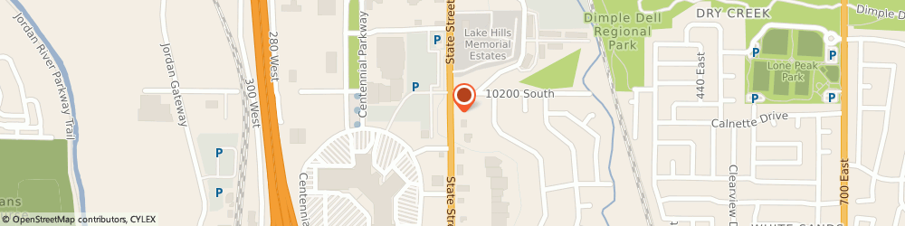 Route/map/directions to Public Storage, 84070 Sandy, 9101 S State Street