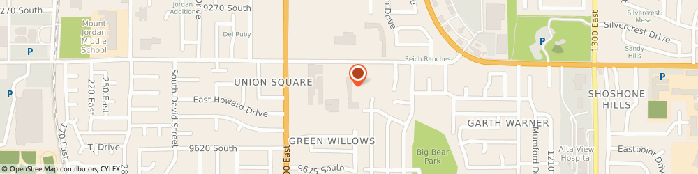 Route/map/directions to South Valley Physical Therapy, 84094 Sandy, 834 EAST 9400 SOUTH