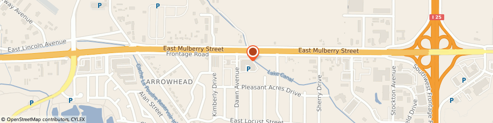 Route/map/directions to Greyrock Window & Door, 80524 Fort Collins, 3201 E Mulberry St. Unit N