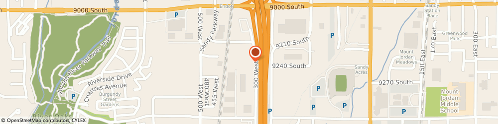 Route/map/directions to Safeco Insurance Agent, 84070-2669 Sandy, 9176 S 300 W Ste 4