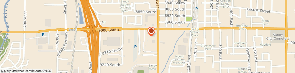 Route/map/directions to Safeco Insurance Agent, 84070-2008 Sandy, 39 W 9000 S