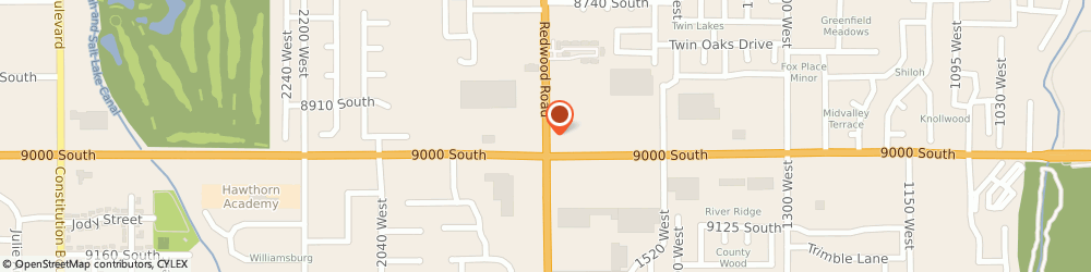 Route/map/directions to Chevron Food Marts, 84047 Midvale, 8980 SOUTH REDWOOD ROAD