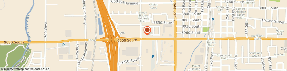 Route/map/directions to Safeco Insurance Agent, 84070-2033 Sandy, 140 W 9000 S Ste 12
