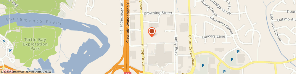 Route/map/directions to Schwab Les Tire Centers - Redding, 96003 Redding, 1201 HILLTOP DRIVE