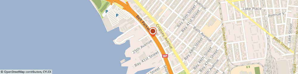 Route/map/directions to Mercedes-Benz of Brooklyn, 11214 Brooklyn, 1800 Shore Pkwy