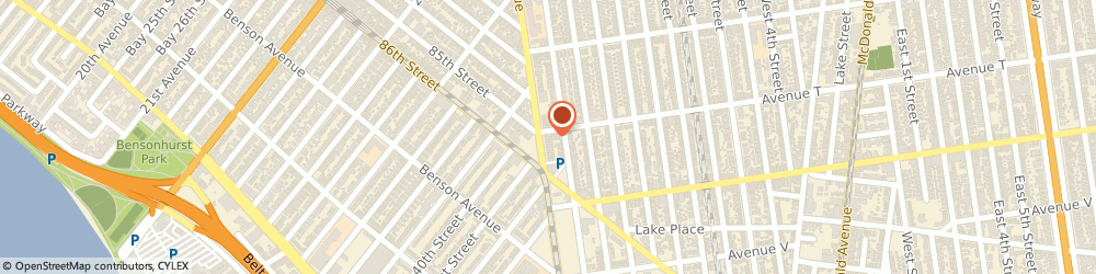 Route/map/directions to Mailzone, Inc. - DHL, FedEx, UPS Authorized Shipping Company, Brooklyn 11223, 11224, 11214, 11223 Brooklyn, 2003 Stillwell Avenue