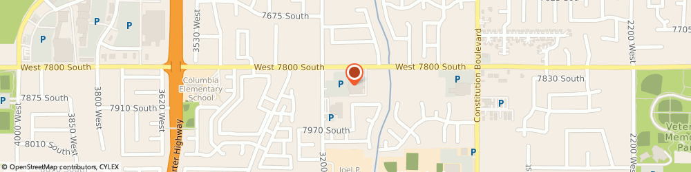Route/map/directions to Good Neighbor Pharmacy, 84088 West Jordan, 7859 South 3200 West