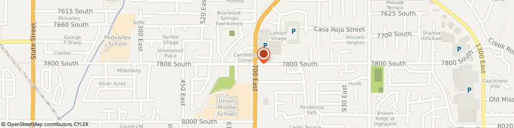 Route/map/directions to Chevron Food Marts, 84047 Midvale, 7800 SOUTH 2700 WEST