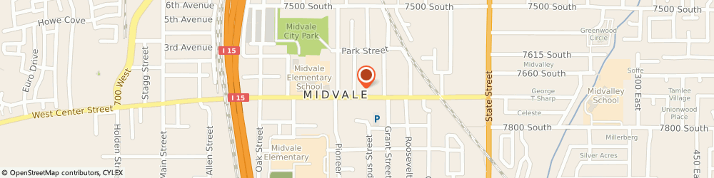 Route/map/directions to Barnes & Noble Ft. Union, 84047 Midvale, 1300 East St