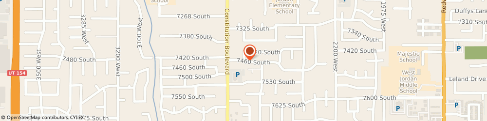 Route/map/directions to Rescue Rooter, 84084 West Jordan, STREET