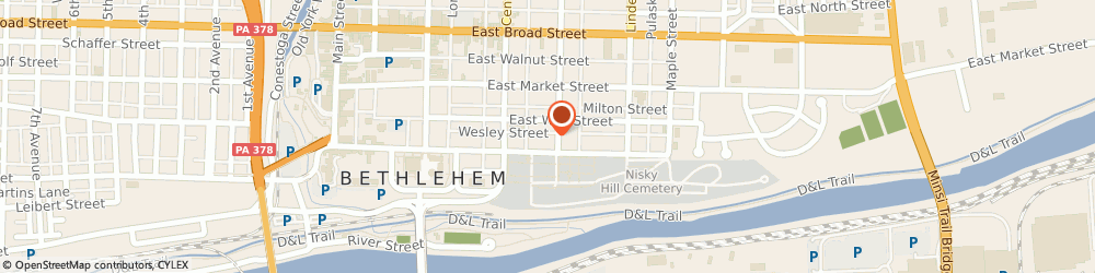 Route/map/directions to Brion Dalton f, 18018 Bethlehem, 415 HIGH STREET
