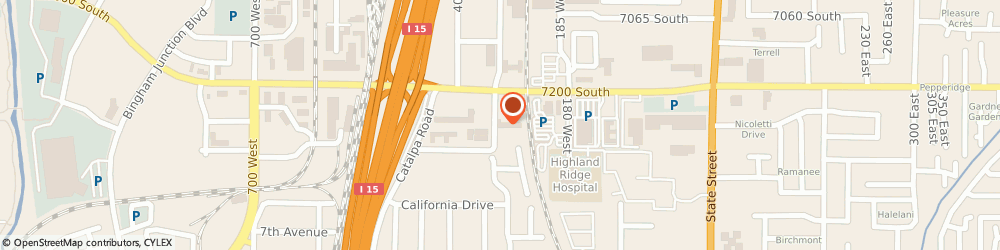 Route/map/directions to Quality Inn Midvale - Salt Lake City South, 84047 Midvale, 7251 South 300 West