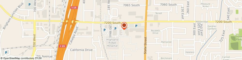 Route/map/directions to Suburban Lodge Of Salt Lake/Midvale, 84047 Midvale, 151 W 7200 S