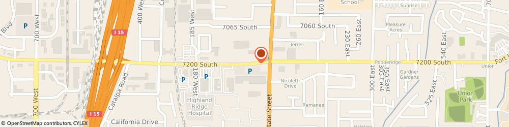 Route/map/directions to In Town Suites, 84047 Midvale, 151 W 7200 S