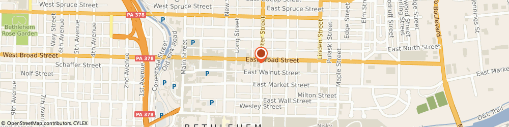Route/map/directions to CITIBANK ATM, 18018 Bethlehem, 74 E Broad St