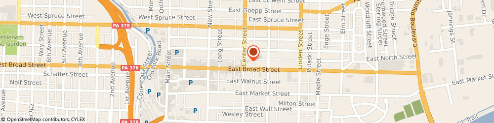 Route/map/directions to Citibank ATM, 18018 Bethlehem, 101 E Brd St