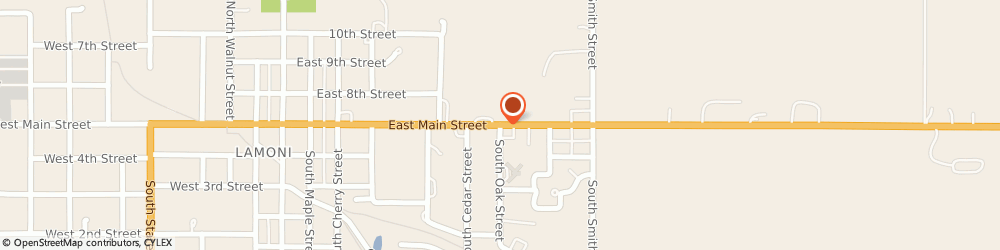 Route/map/directions to Navy Federal Credit Union, 50140 Lamoni, 801 East Main