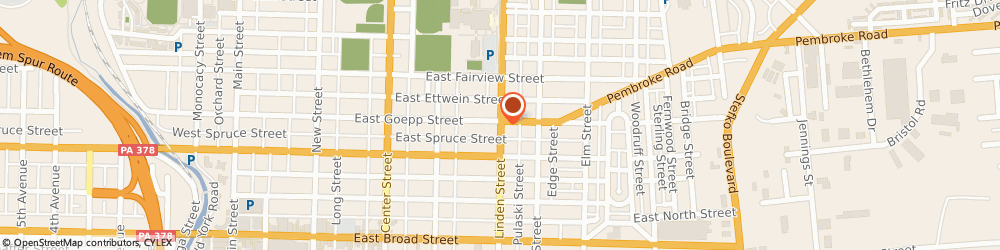 Route/map/directions to Citibank ATM, 18015 Bethlehem, 1584 8Th Ave.