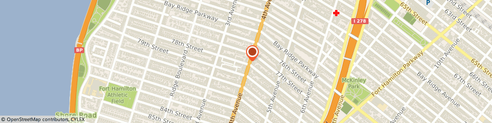 Route/map/directions to The American Legion Michael e. Clavin, 11209 Brooklyn, 7722 4Th Ave