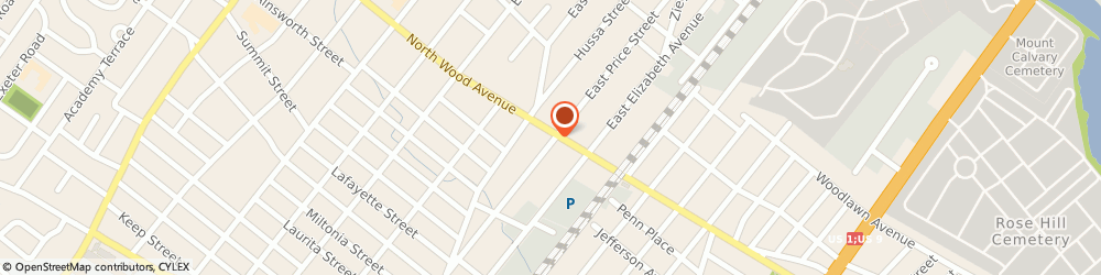 Route/map/directions to Wells Fargo Bank, 07036 Linden, 201 N Wood Ave