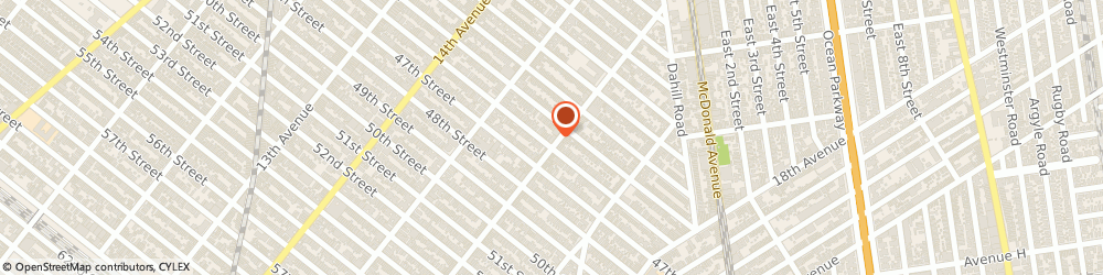 Route/map/directions to Santander Bank, 11204 Brooklyn, 4514 16th Avenue