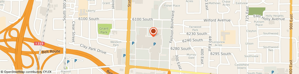 Route/map/directions to Disney Store, 84107 Salt Lake City, 6191 SOUTH STATE STREET SUITE 238