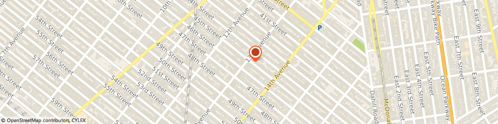 Route/map/directions to Valley Bank, 11219 Brooklyn, 4501 13th Avenue