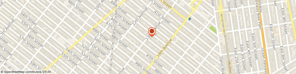 Route/map/directions to Park Avenue Bank, 11219 Brooklyn, 4419 13Th Ave
