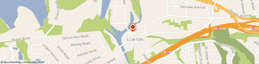 Route/map/directions to Progressive Casualty Insurance Agent, 08809 Clinton, 28 Center St