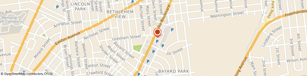 Route/map/directions to Subway, 18017 Bethlehem, 1829 STEFKO BOULEVARD
