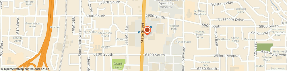 Route/map/directions to 3 Day Blinds, 84107 Salt Lake City, 5969 SOUTH STATE STREET