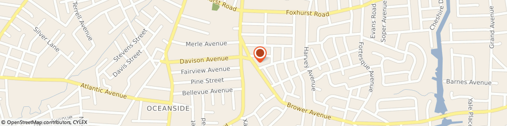 Route/map/directions to Curves For Women Of Oceanside, 11572 Oceanside, 2822 BROWER AVENUE