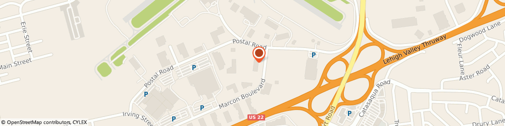 Route/map/directions to First Financial Group, 18109 Allentown, 961 MARCON BOULEVARD SUITE 306