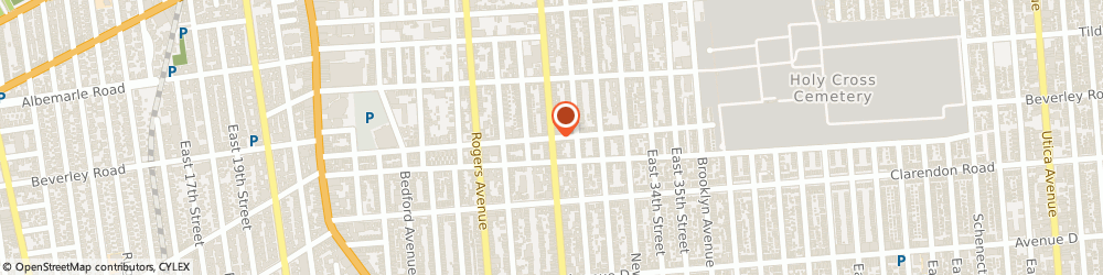 Route/map/directions to United States Postal Service, 11210 Brooklyn, 2319 Nostrand Ave