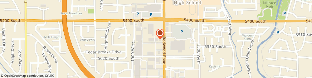 Route/map/directions to Jamba Juice, 84123 Salt Lake City, 5578 S. Redwood Blvd., Unit C