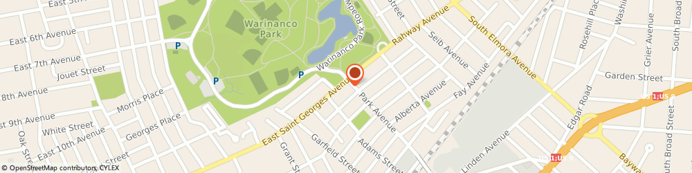 Route/map/directions to Citibank ATM, 07036 Linden, 1932 St Georges Ave