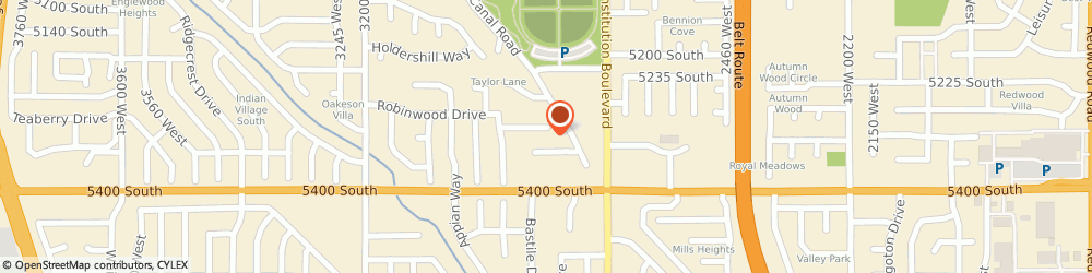 Route/map/directions to BRYAN PONS ENT, 84118 Salt Lake City, 2827 Allred Circle