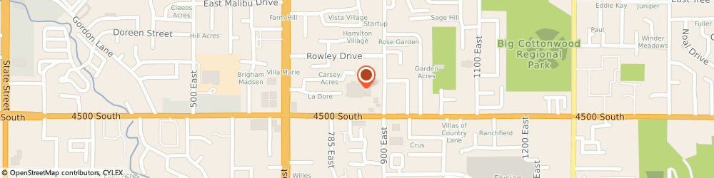 Route/map/directions to Jackson Hewitt Tax Service, 84107 Salt Lake City, 845 EAST 4500 SOUTH