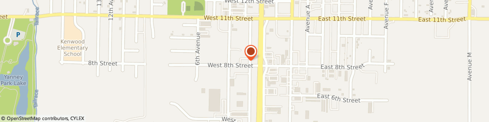 Route/map/directions to Burger King, 68845 Kearney, 802 Third Ave
