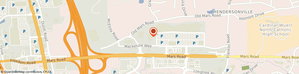 Route/map/directions to Farmers Insurance - Matthew Cox, 16066 Cranberry Township, 2009 Mackenzie Way
