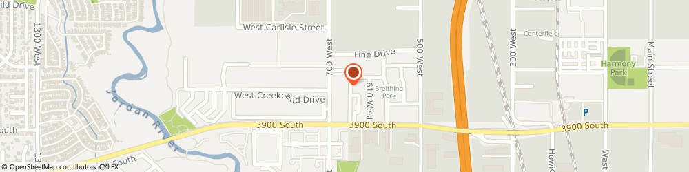 Route/map/directions to Mountain Shadows Apartments, 84119 Salt Lake City, 3825 South 700 West