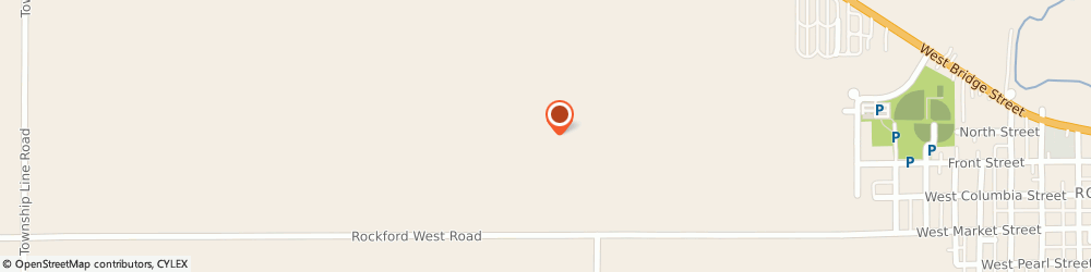 Route/map/directions to CITIBANK ATM, 45882 Celina, 1027 N. Main St