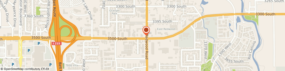 Route/map/directions to Burger King, 84119 Salt Lake City, 3470 South Redwood Rd